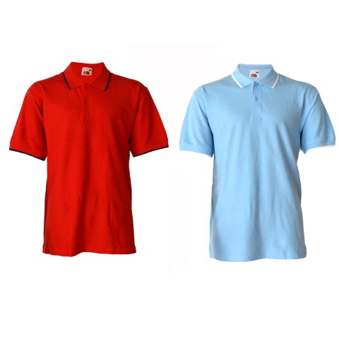 Tricou-Fruit-of-the-Loom-Polo-Tipped