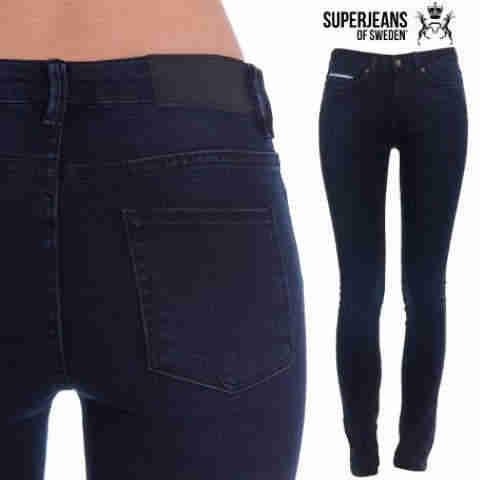 Jeans-SuperSkinny-pentru-Femei-negri-bleumarin-SUPERJEANS-OF-SWEDEN