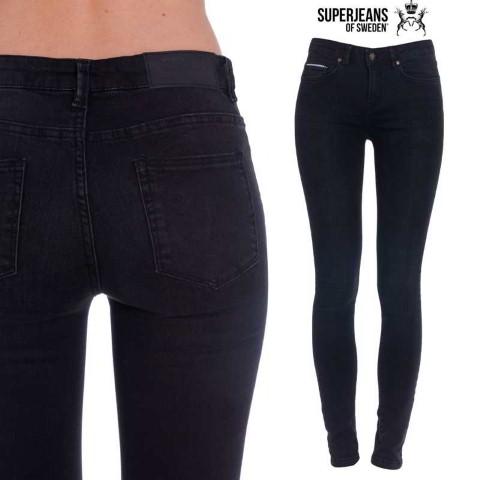 Jeans-SuperSkinny-pentru-Femei-negri---bleumarin---SUPERJEANS-OF-SWEDEN